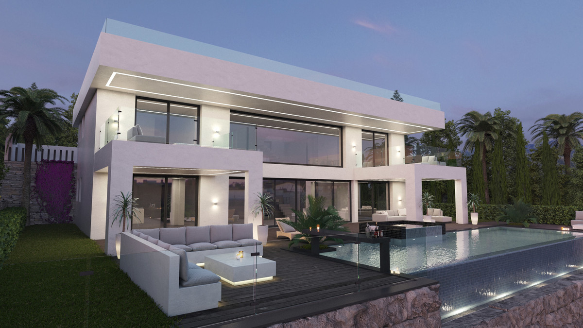 Plot of 932 sq m with a sea view in a residential area with developed infrastructure Nueva Atalaya B,Spain