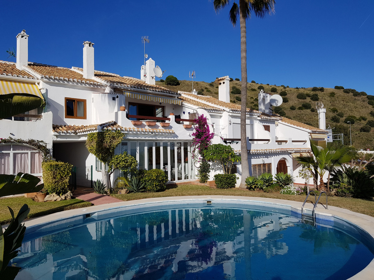 This penthouse is located in a very quiet and gated community in Calahonda, Mijas Costa. Community p,Spain