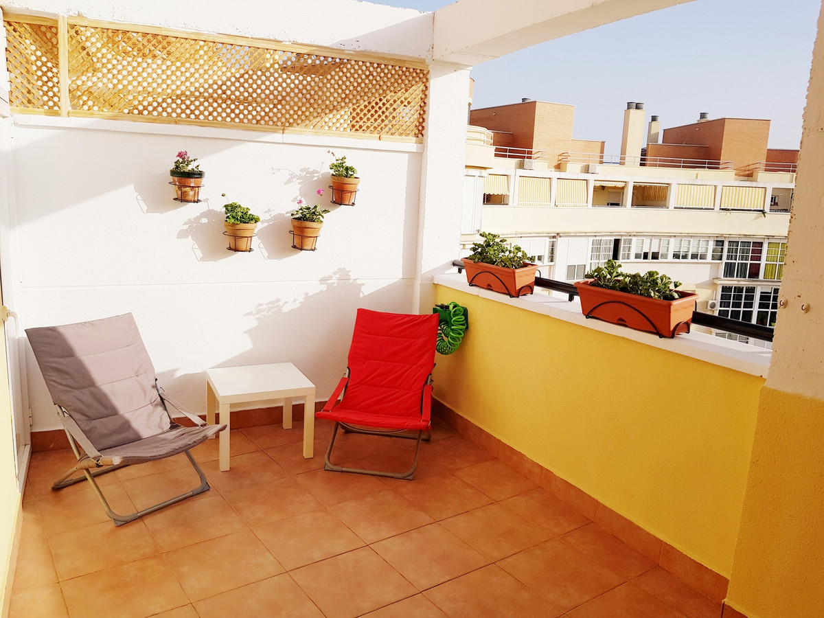 Penthouse for rent in Málaga Centro