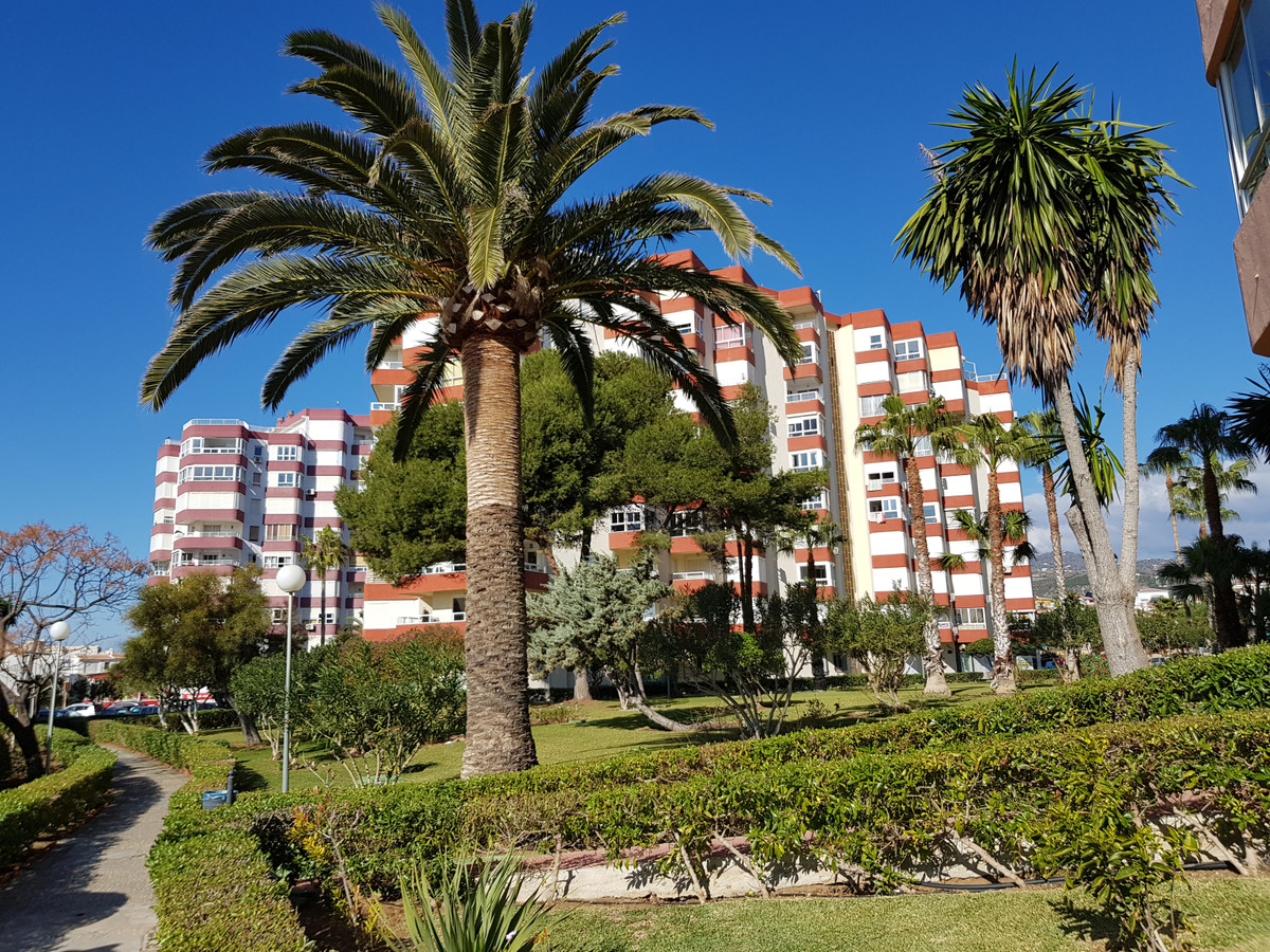 Studio apartment on the second line of the beach in Torrox Costa. Torrox is close to the city of Mal, Spain