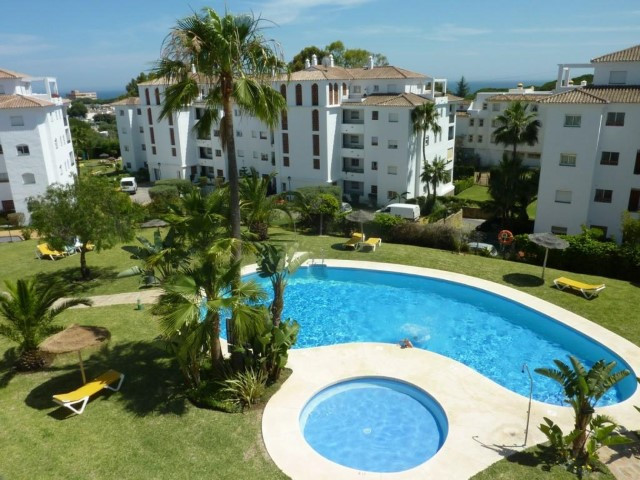 Apartment with two bed and two bath in the lower part of Calahonda, Mijas Costa. The apartment is wi,Spain