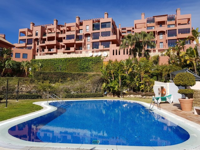 Modern ground floor apartment with a private garden for sale in Calahonda, Mijas Costa. Calahonda is, Spain