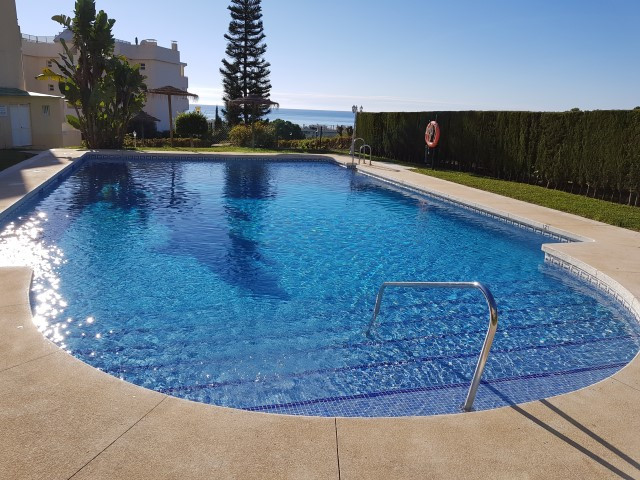 Two bedroom and two bathroom apartment in the lower part of Calahonda, Mijas Costa, for sale at 129.,Spain