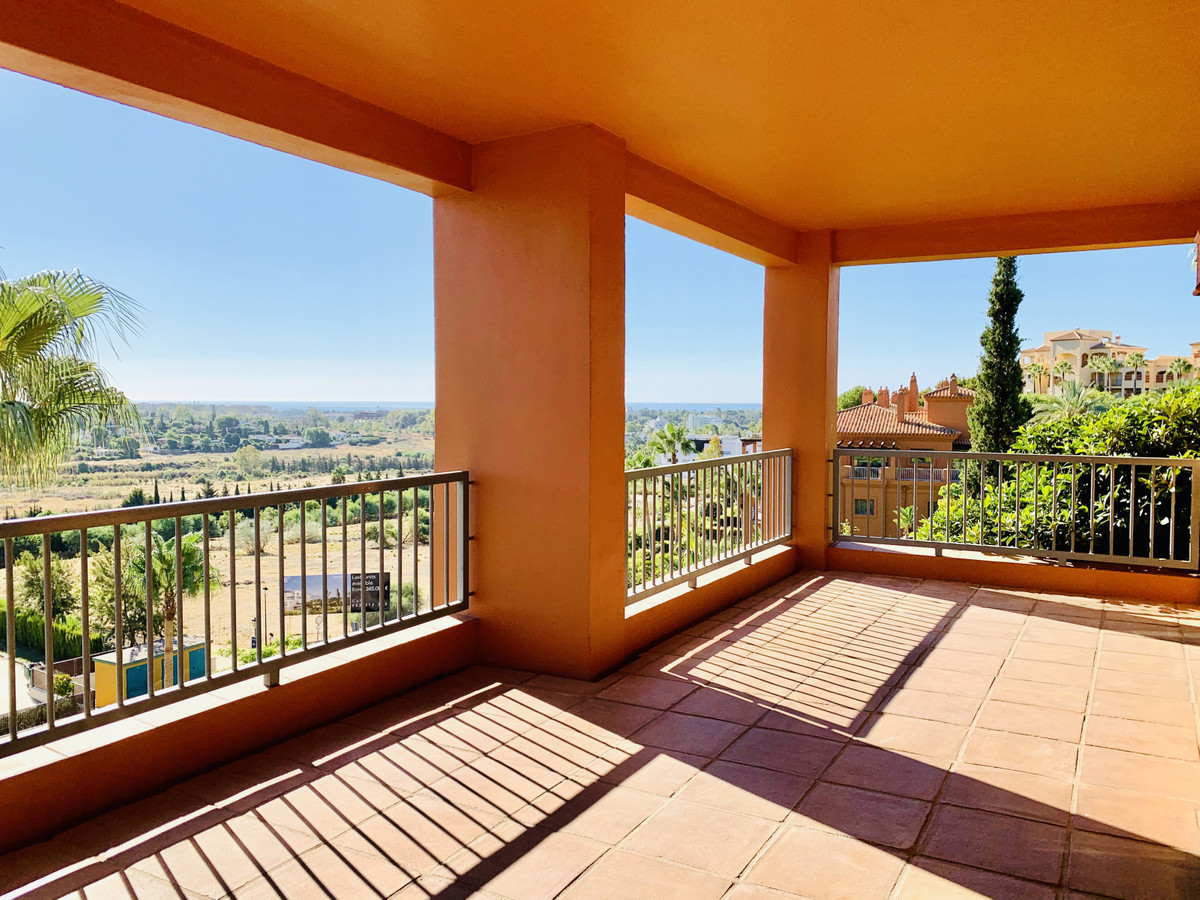 A beautiful improved CORNER apartment with SEA views in the secure urbanisation of Benatalaya in Ata, Spain