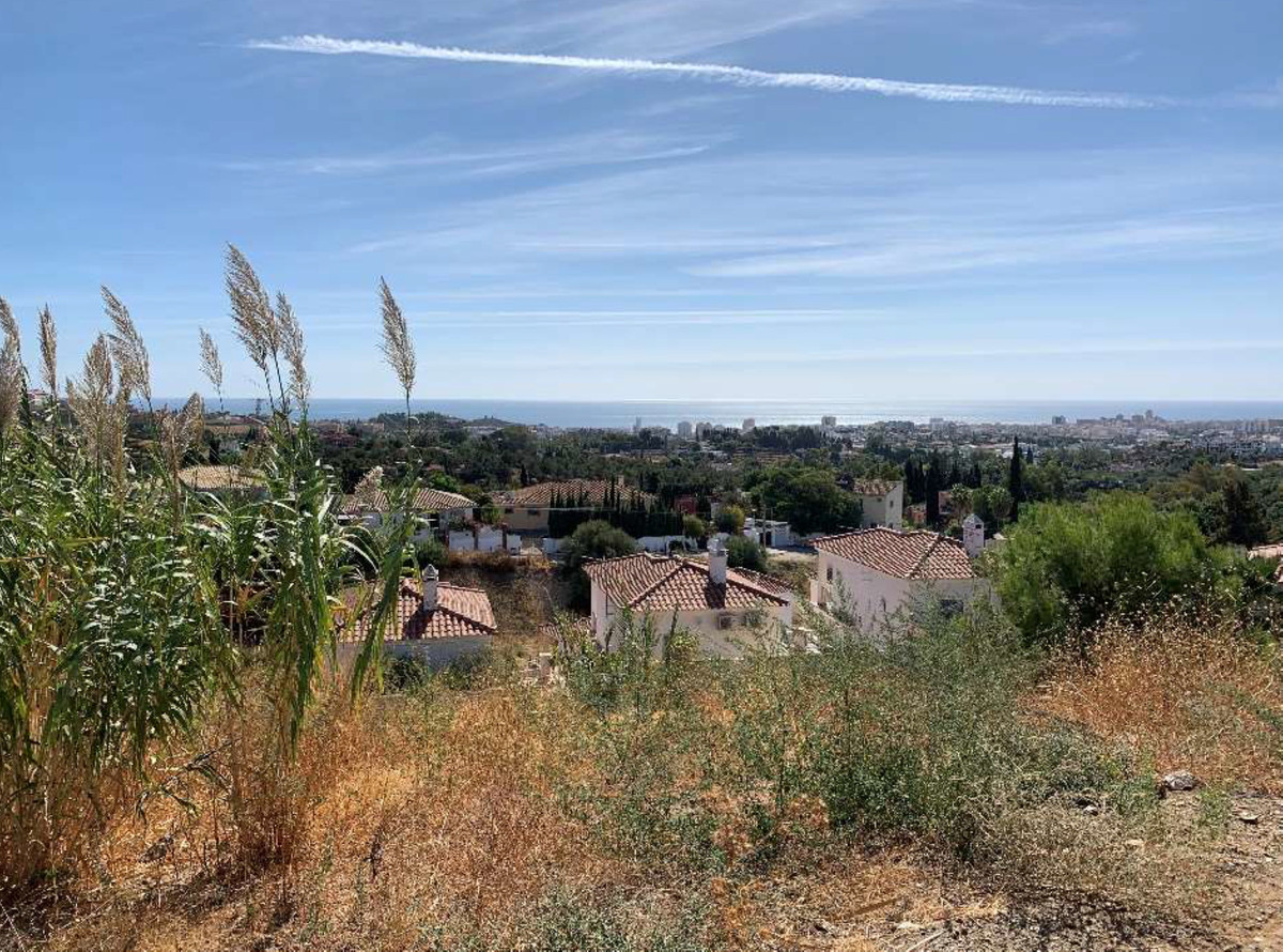 WONDERFUL BUILDING PLOT for SALE located only 4 minutes from Mijas Pueblo and Fuengirola. GREAT VIEW, Spain