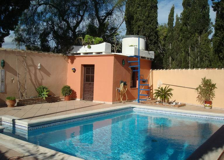 FANTASTIC LITTLE VILLA located between Mijas and Fuengirola! Private courtyard with swimming pool an, Spain