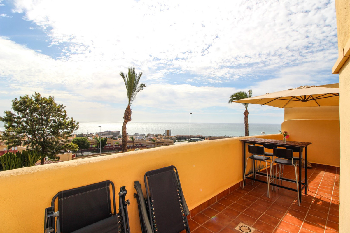 Beautiful duplex apartment with stunning sea views and views of la Cala. The property has two spacio, Spain