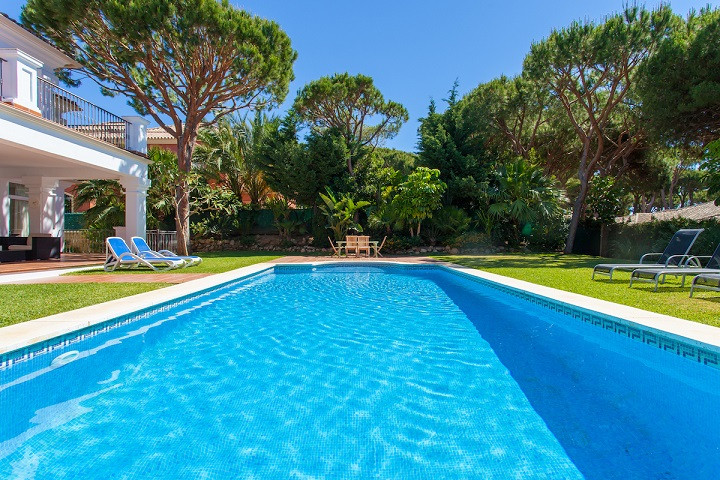Fabulous independent villa recently renovated with luxury qualities located on the beach side in the,Spain