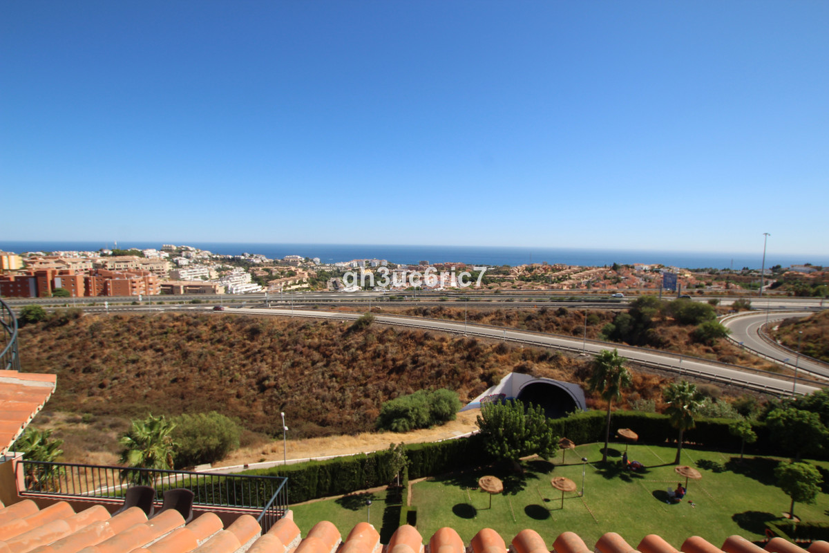 A spacious three bedroom penthouse with amazing panoramic sea views !! Located in the upper area of , Spain