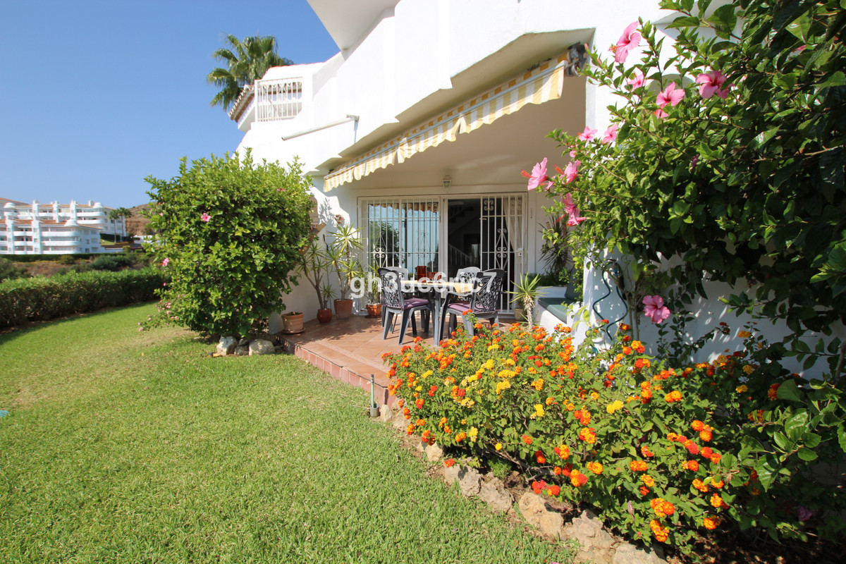 A beautiful two bedroom townhouse with lots of Andalusian charm and lovely sea views on all levels !,Spain
