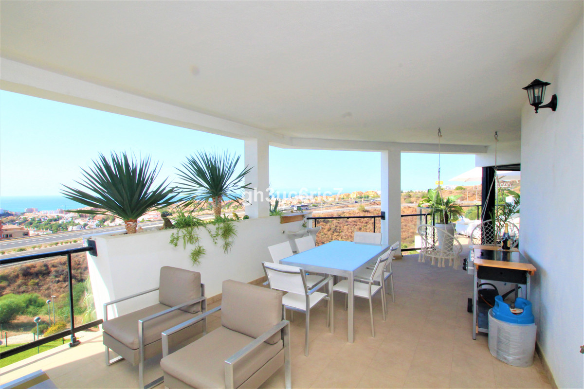 A magnificent 2 bedroom apartment with panoramic sea views located in the upper area of Riviera del , Spain