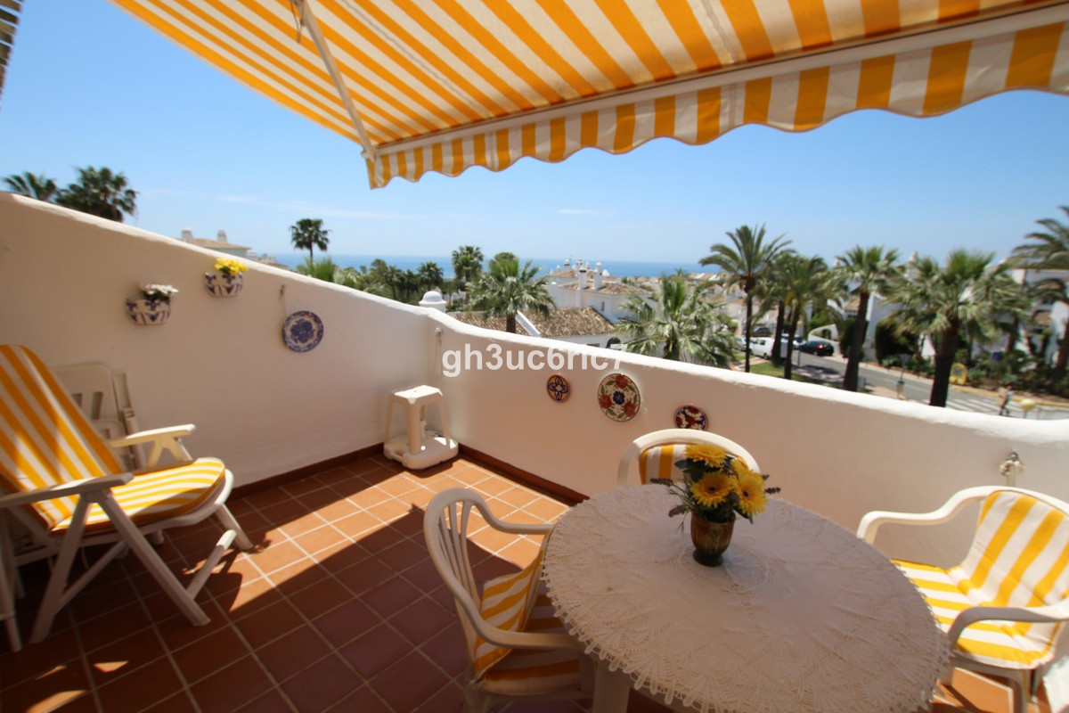 A beautiful southwest facing penthouse with lovely open sea views from inside the apartment as well ,Spain