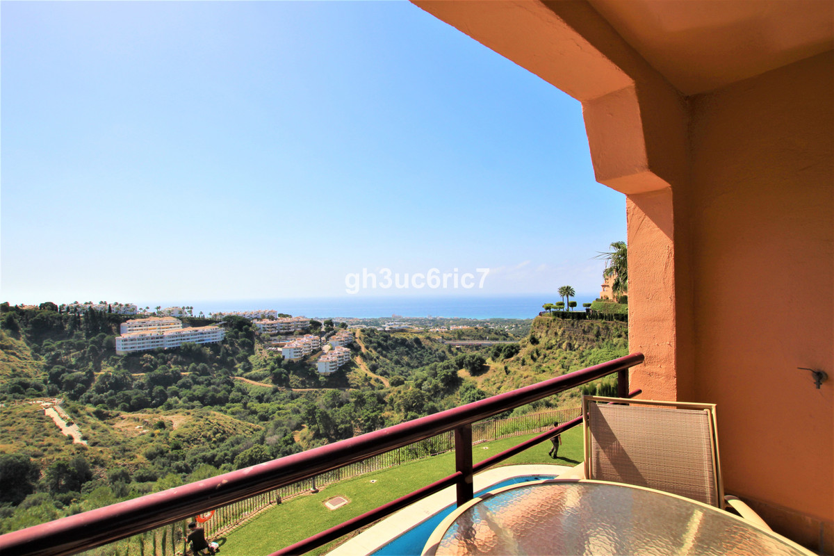 A lovely elevated ground floor duplex apartment with amazing sea views located in the upper area of ,Spain