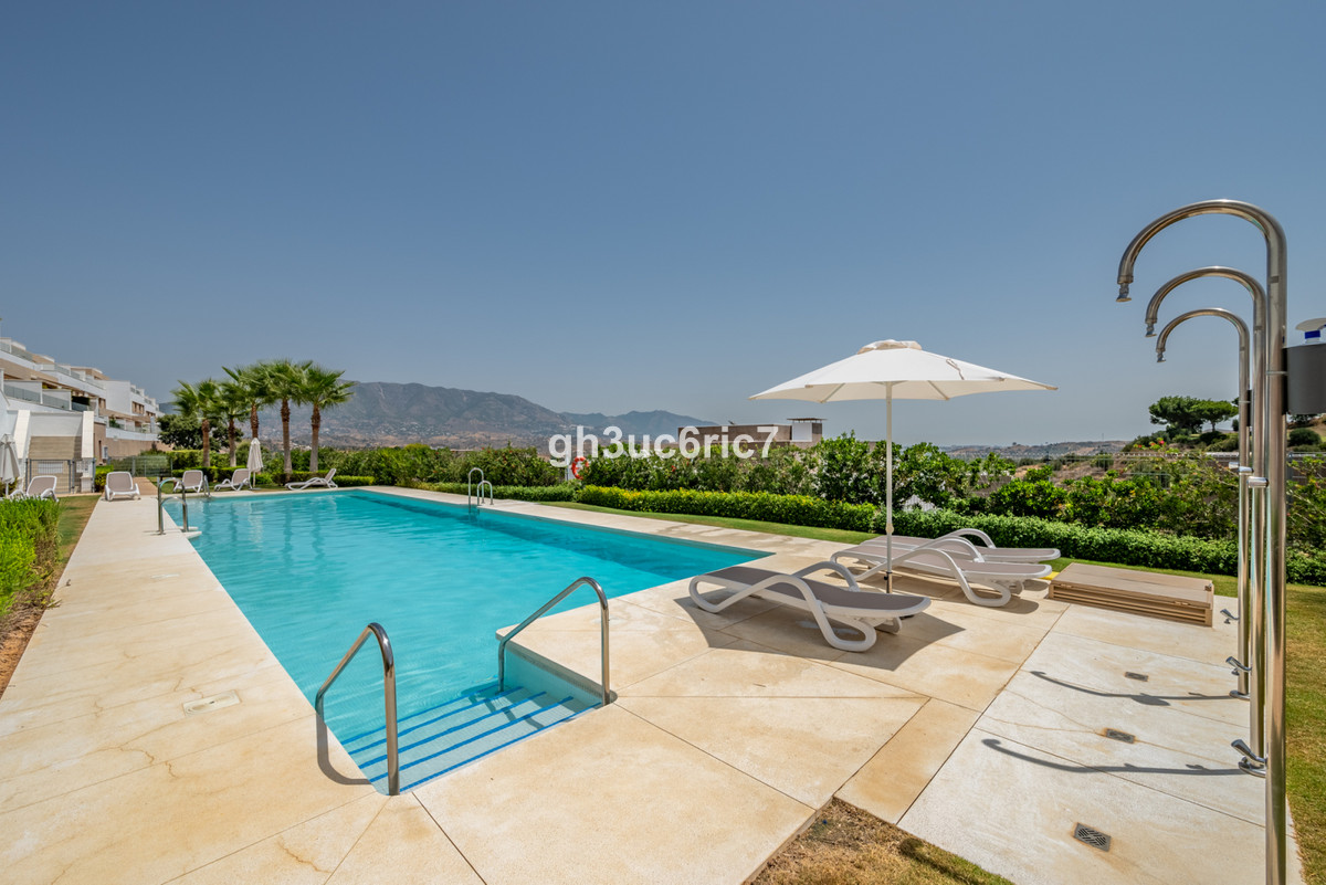 A luxurious townhouse with spectacular views of the golf courses, mountains and sea in the distance,,Spain