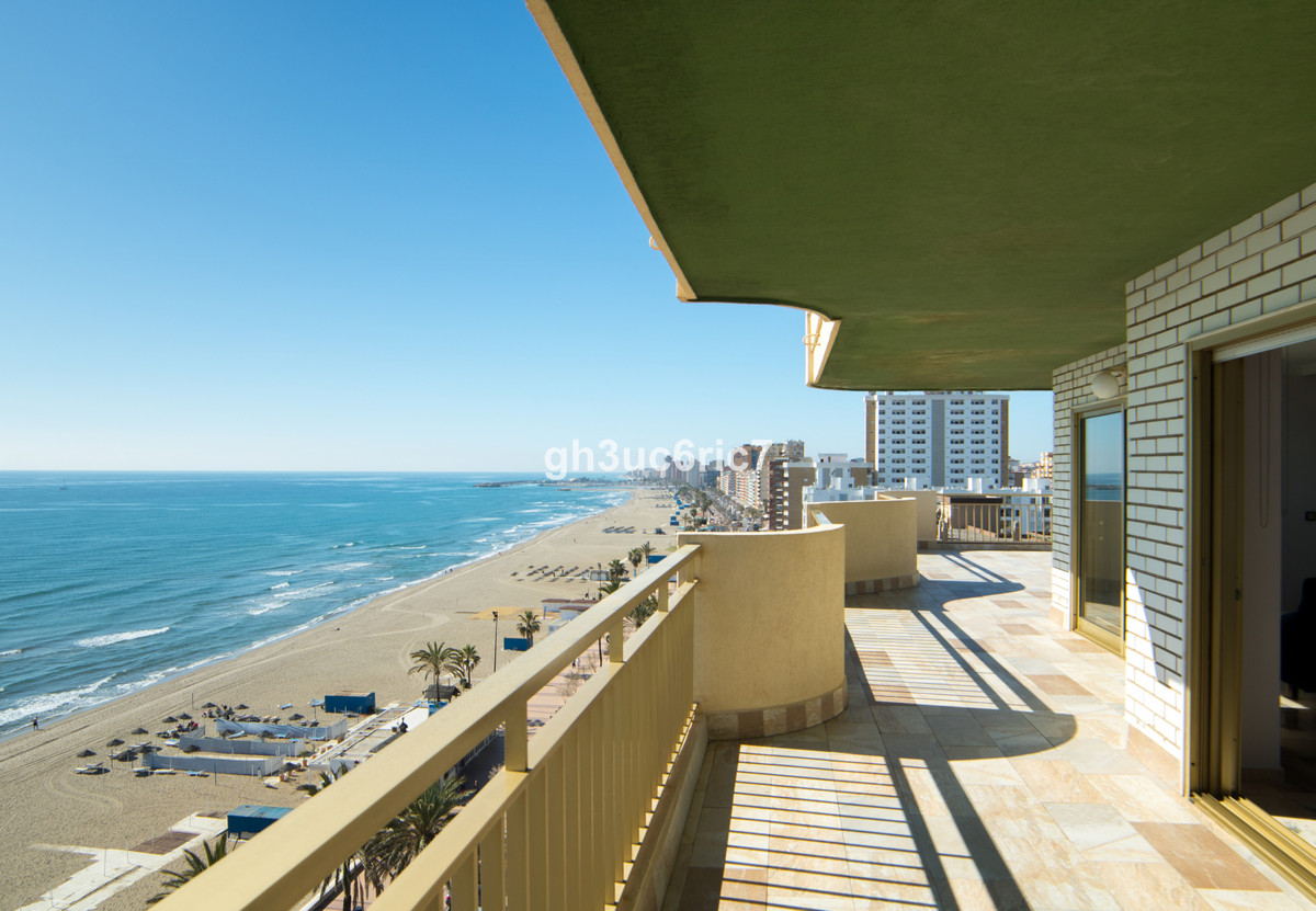 Spacious first line beach apartment with wonderful sea, beach and mountains views. There is a huge t,Spain