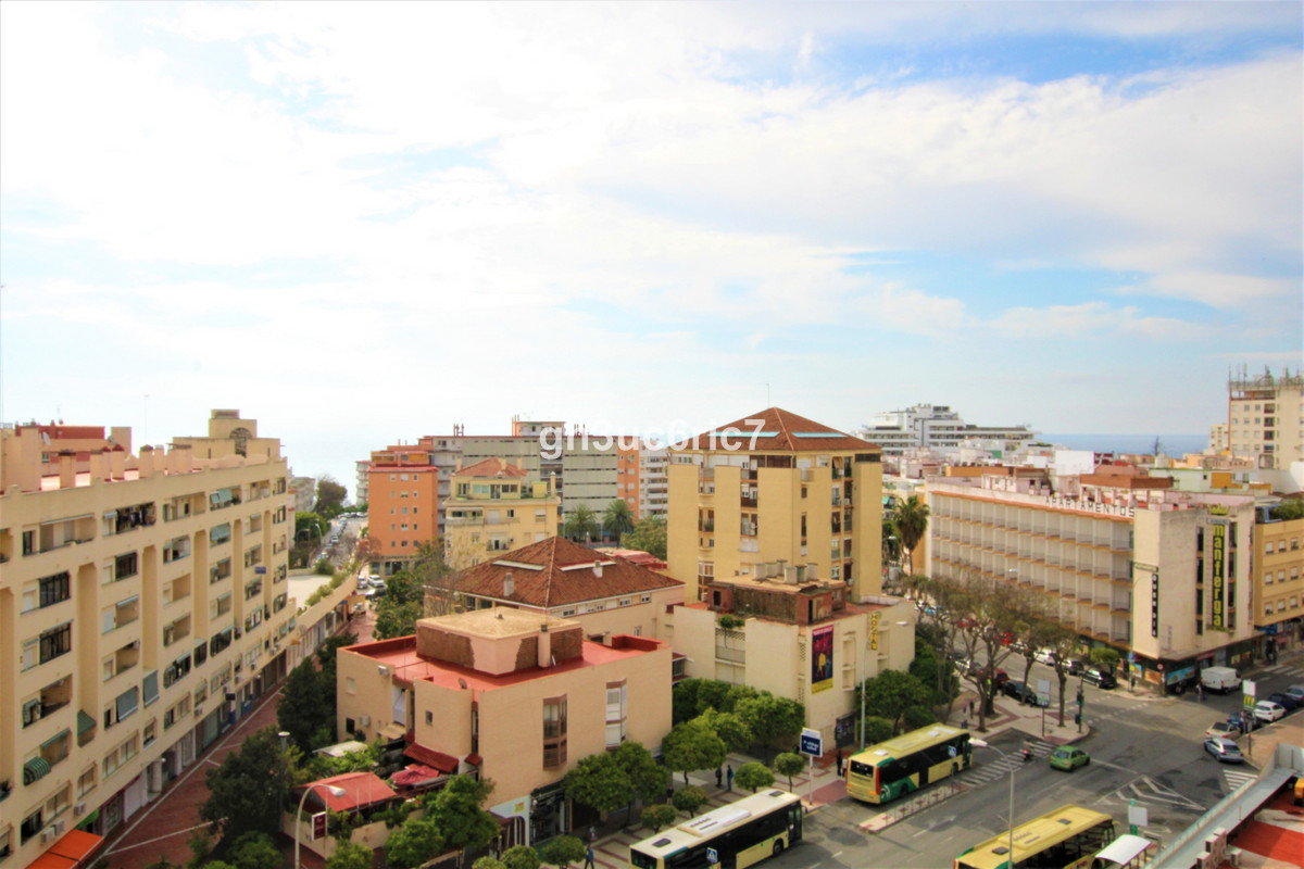 Sunny south facing studio apartment with an open terrace a lovely sea views. Located right in the he, Spain