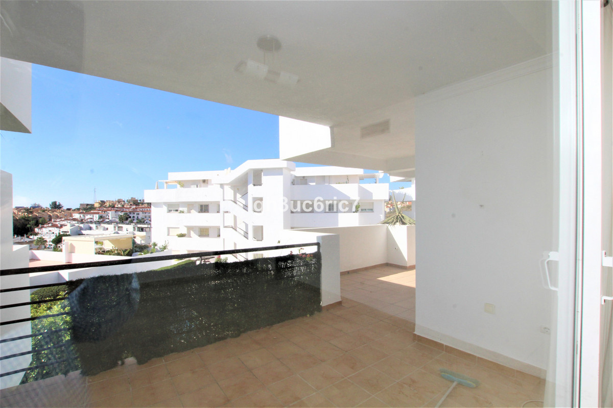 Elevated ground floor two bedroom apartment, located in Riviera del Sol. There is a fully fitted kit,Spain