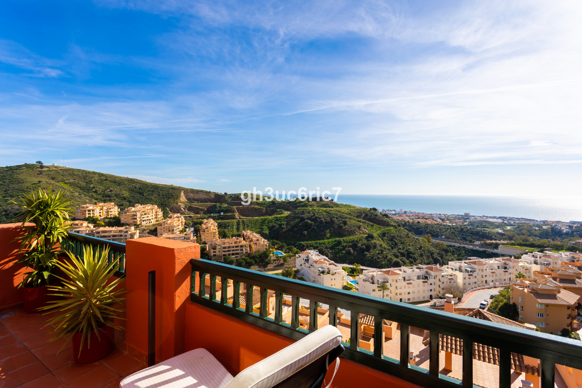 Beautifully presented south facing penthouse with stunning sea views located within a gated and very,Spain