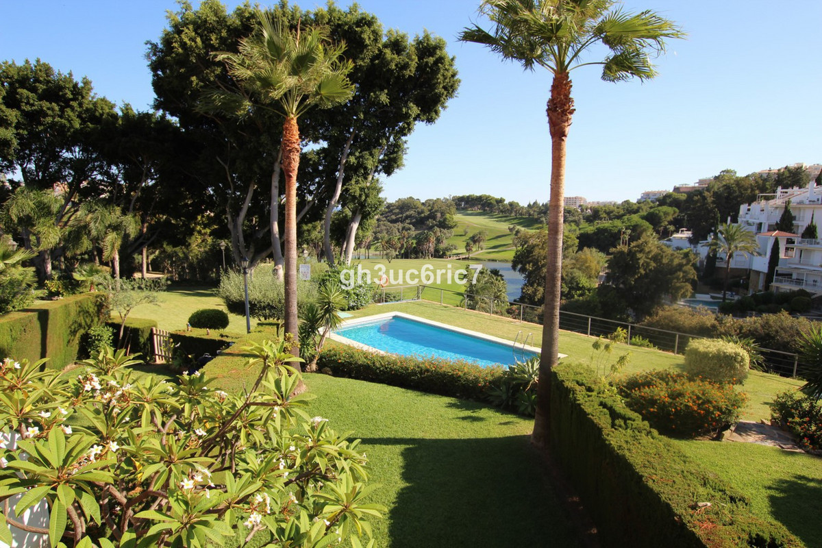 Luxurious first line golf town house overlooking the 15th hole of the prestigious Torrequebrada golf,Spain