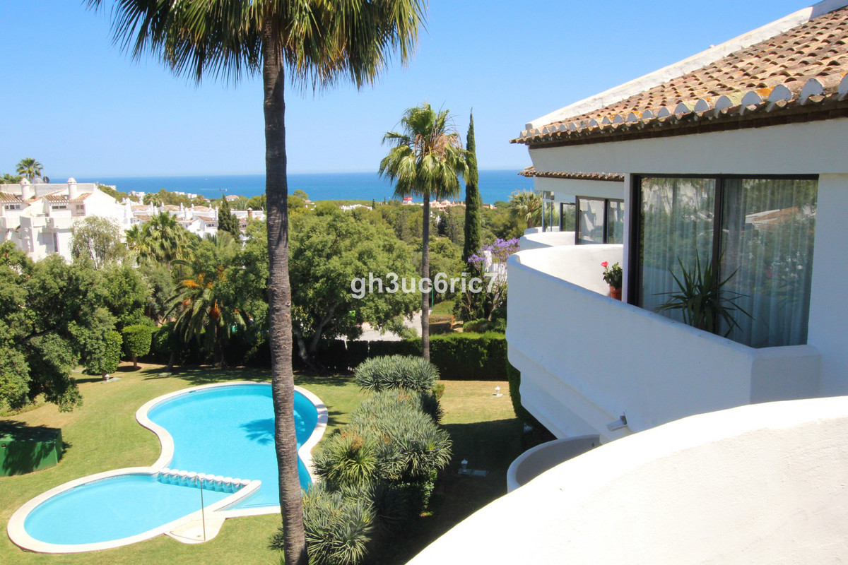 A beautiful two bedroom penthouse in a sought after complex, south facing with nice sea views. It ha,Spain
