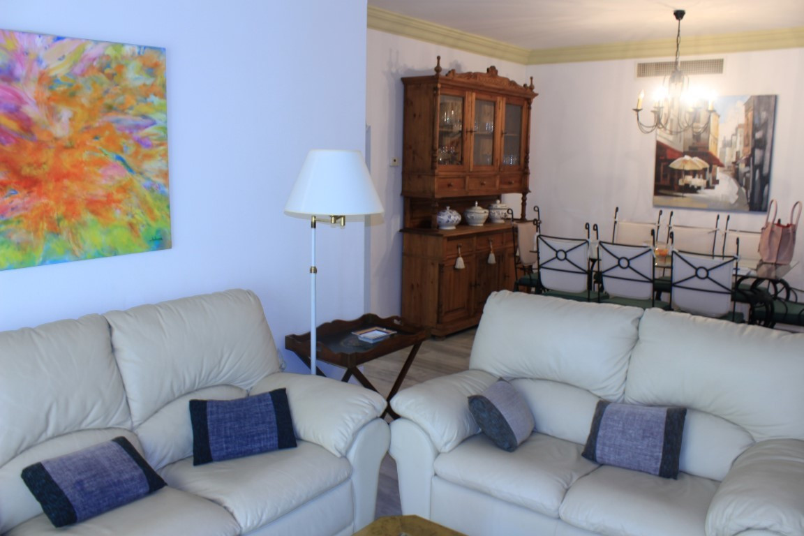 Nice apartment in the residential area Guadalmina Baja, gated community with swimming pool, gardens ,Spain