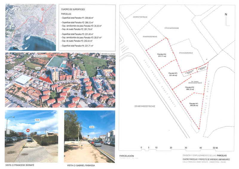 Residential Plot in Palma de Mallorca for sale