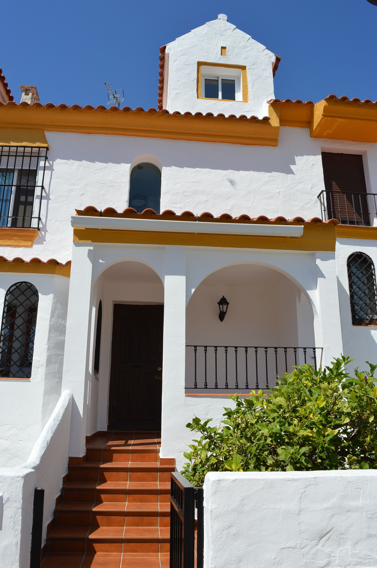 This large townhouse is located opposite the Marina of Estepona. The house is distributed on four fl,Spain