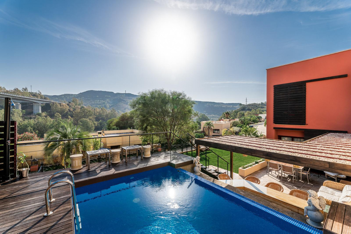 Situated in the ever popular Parque Botanico in the Benahavis area of Malaga, this house is the epit,Spain