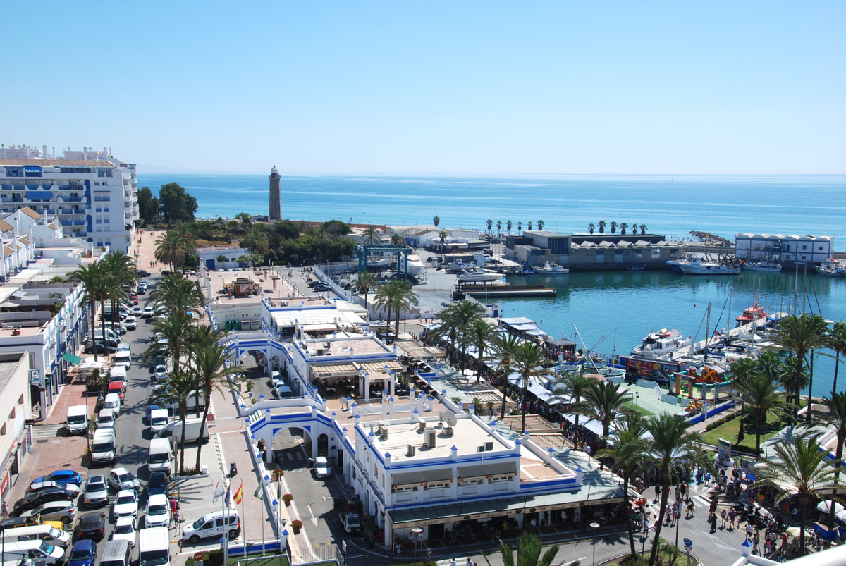The apartment is located on the pretty port of Estepona, easy parking facilities behind the property, Spain