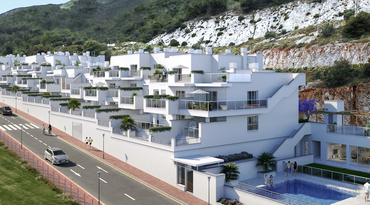 This new development is under construction. It is located near the town center of Benalmadena , near,Spain