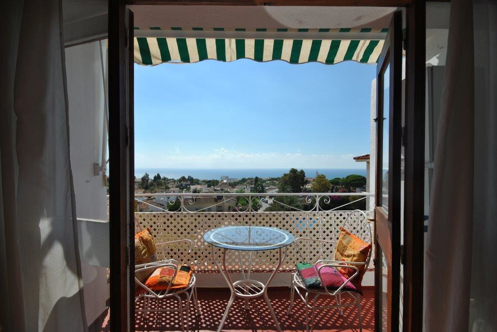 Apartment in Marbella located on a fifth floor with spectacular sea and mountain views. Features liv,Spain