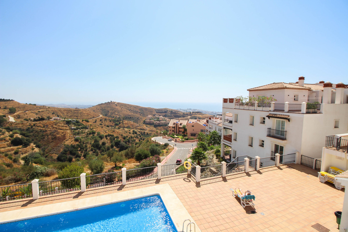 An imposing penthouse with a wrap around terrace with far reaching views to east, west and south. Th,Spain
