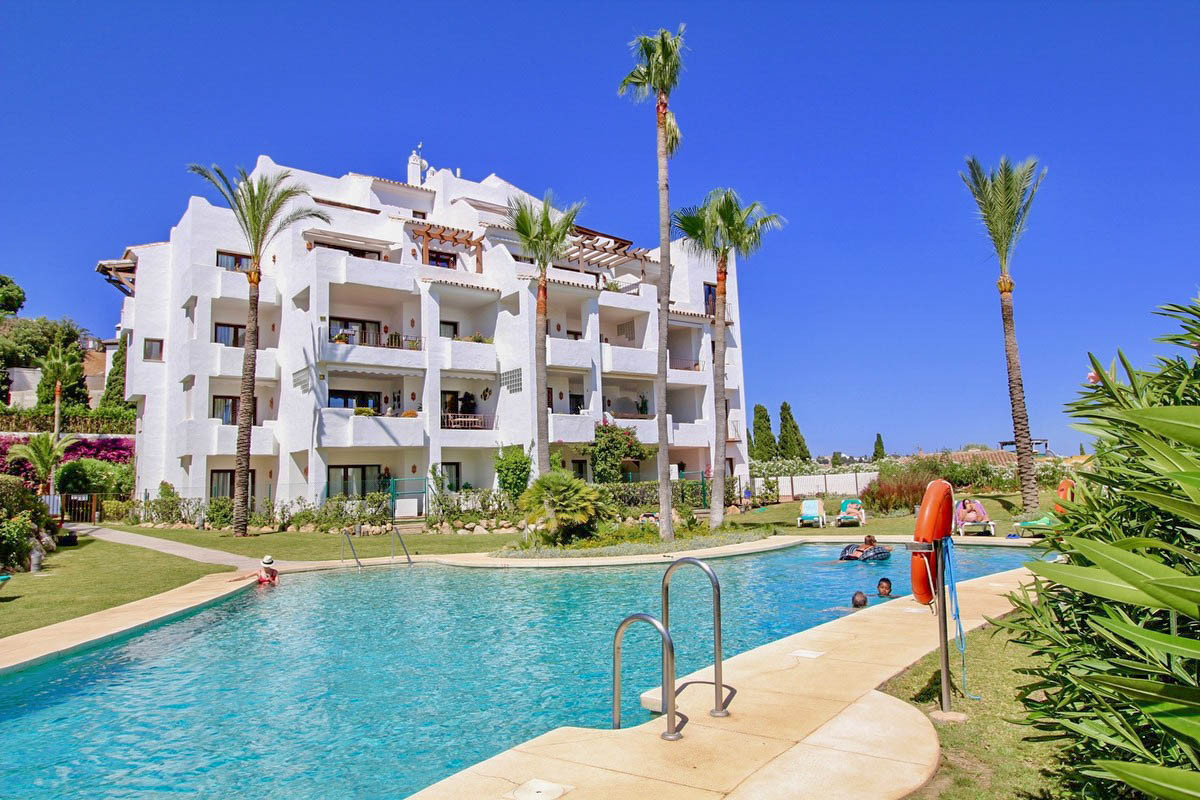 An immaculate apartment in one of the most sought after developments in Mijas Golf. This is a very s, Spain