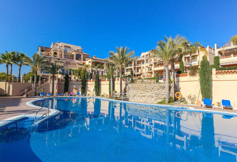 """This superb frontline golf penthouse is situated in the luxury development """"Marques de Atalaya&,Spain"""
