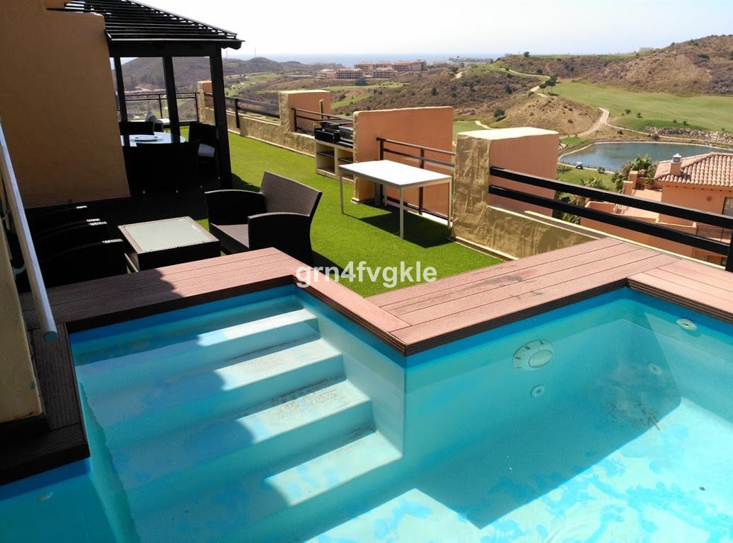 MIJAS COSTA - LUXURY DUPLEX - FRONTLINE GOLF- duplex penthouse with panoramic views of the golf cour,Spain