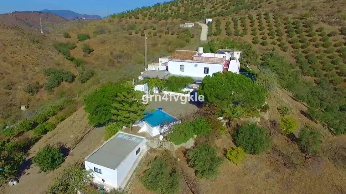 For sale 3 hectares farm completely fenced with house and several additional buildings. Ideal for pe, Spain