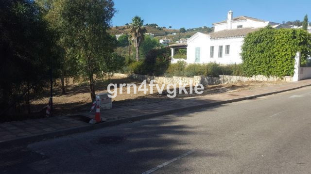 "Plot 18 D-  1091m2   -  The plot 18 D in the middle of the golf course ""La Cala Resort"" in, Spain"