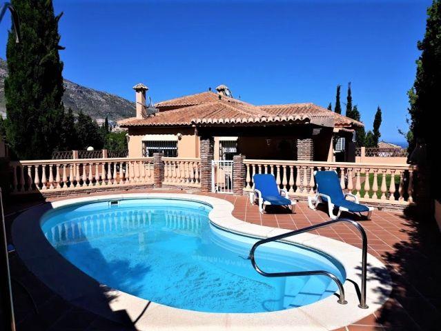 Detached Villa, Benalmadena Pueblo, Costa del Sol. 4 Bedrooms, 2 Bathrooms, Built 180 m2;, Garden/Pl,Spain