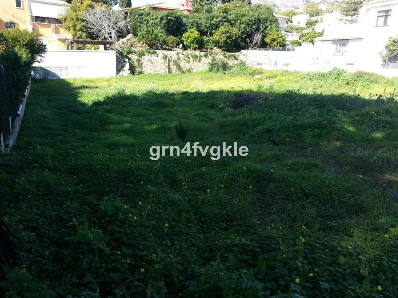 plot of land in term of Mijas, in Almachada surface of 900m2 south east facing quiet area in urbaniz, Spain