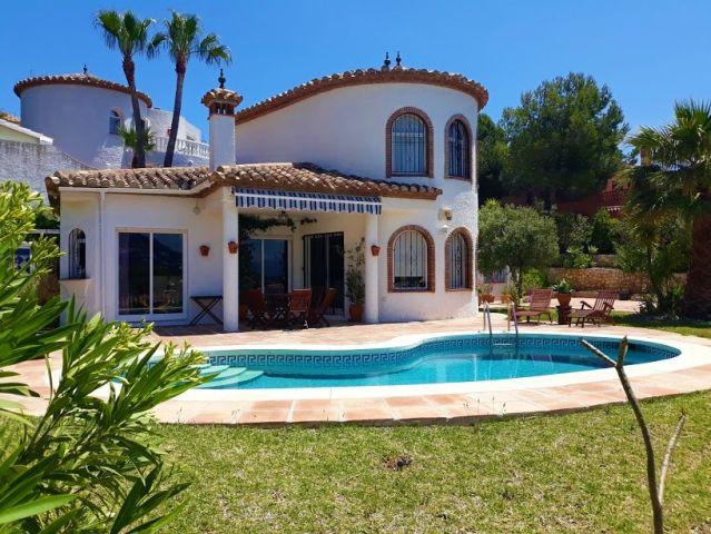 Detached Villa, Mijas, Costa del Sol. 3 Bedrooms, 3 Bathrooms, Built 163 m2;, Garden/Plot 828 m2  JU,Spain