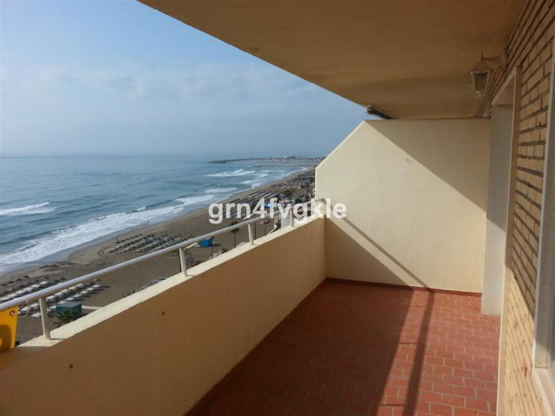 3 BEDROOM APARTMENT SEA FACING   in a building with pool and parking. Panoramic views from Malaga to,Spain