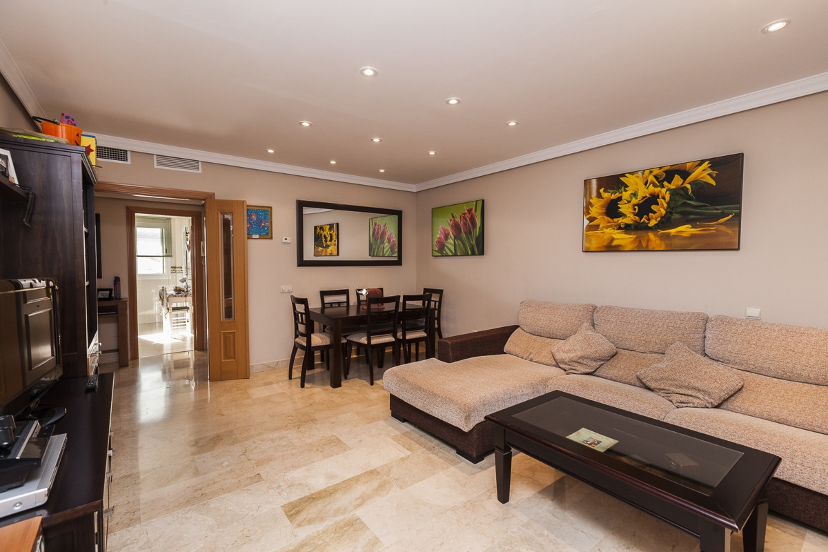 Modern apartment in new torrequebrada, has approximately 110 square meters, storage and parking, thr, Spain