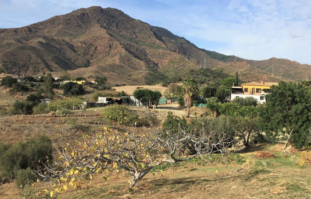 Small Farmhouse and Land in Estepona in the Camino de los Polvitos just 3.5kms behind the town of Es, Spain