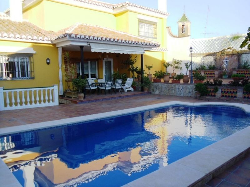 This substantial villa, which is situated in historic Velez-Malaga, has been completely reformed to ,Spain