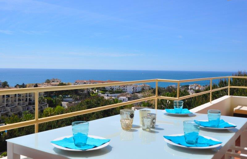 BREATHTAKING SEA VIEWS Fantastic, excellent and  very modern contemporary 2 bedroom 1 bathroom with , Spain