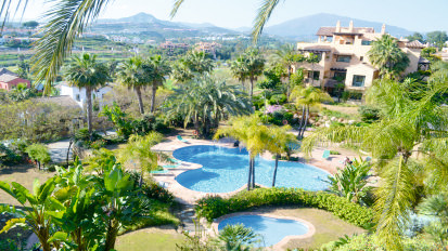 "Magnificent views !!! Located in the exclusive Urbanization ""El Campanario"". This apartmen, Spain"