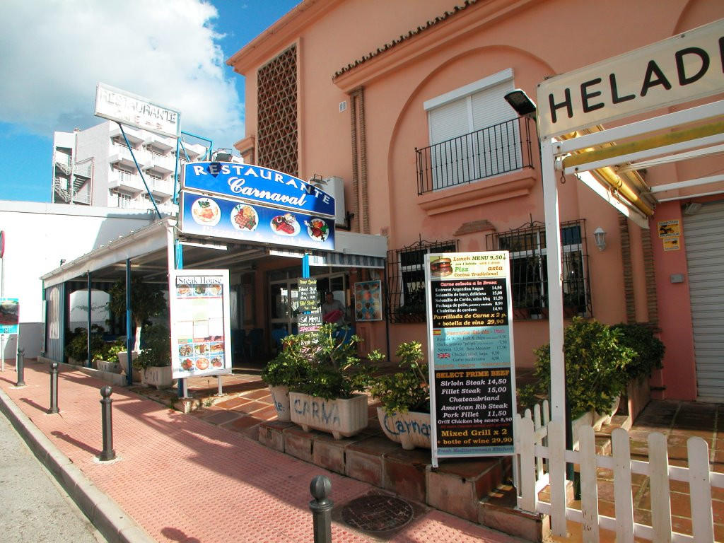 Restaurant, Benalmadena Costa, Costa del Sol. Built 112 m², Terrace 100 m².  Setting : Beachside, Cl, Spain