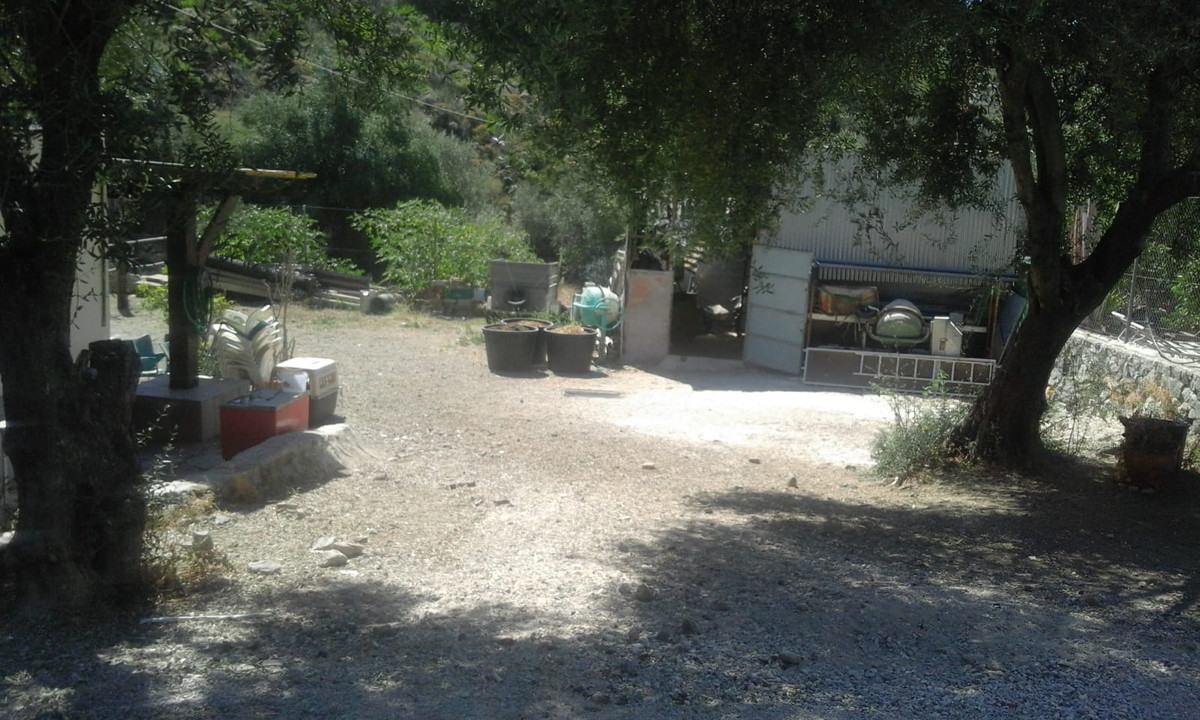 Land, Ojen, Costa del Sol. Garden/Plot 1200 m².  Setting : Country. Orientation : North, East, South, Spain