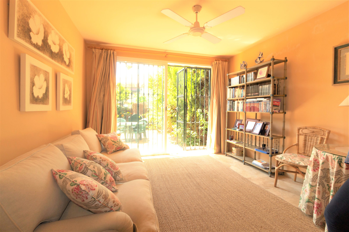 In Guadalmina, great sunny and south facing apartment, located on the ground floor with garden area , Spain