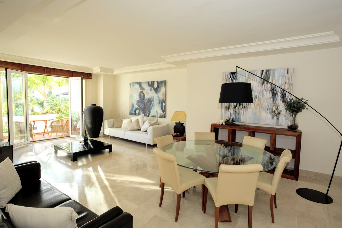 A superb property located just meters from the seafront promenade connecting Puerto Banus to San Ped,Spain